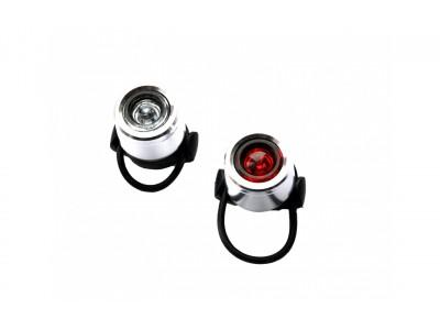 ФОНАРЬ JING YI JY-6064F + JY-6064T LED с батарейками
